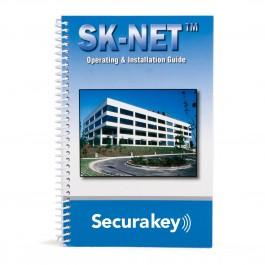 Secura Key 3321876 SK-NET Spiral-Bound Manual