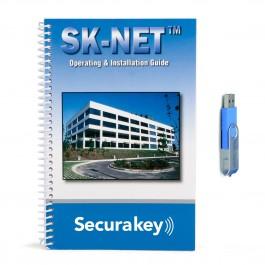 Secura Key SKNETDM Basic Software (USB Flash Drive and Manual)