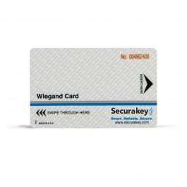 Secura Key WCCI-10 Wiegand Cards (30-mil) - Sensor/HID Compatible for Wiegand Swipe Readers