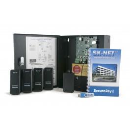 Secura Key SK-MRCP-4RKDT-M NOVA.16 4-Door Kit w/ 4 RKDT Mullion Dual-Tech Prox Readers