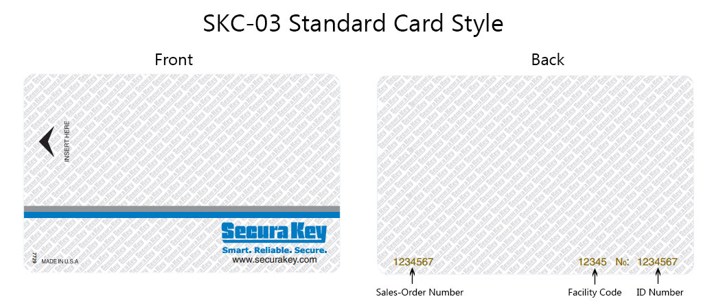 SKC-03 Standard Card Style