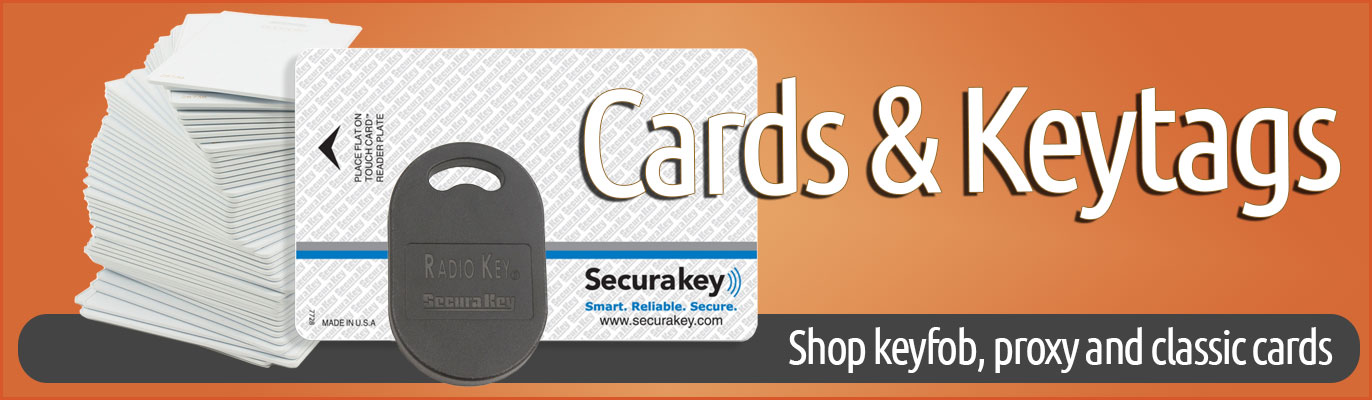 SecuraKey Cards and Keytags