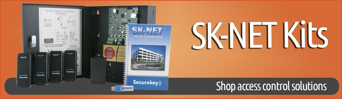 SecuraKey SK Net Control Kits